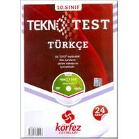 Körfez 10. Sınıf Türkçe Tekno Poşet Test Çözüm Dvd'li