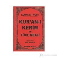 Elmalılı - Üçlü Kur'an-I Kerim Ve Yüce Meali (Çanta Boy - Kılıflı)/(Üçlü-011)