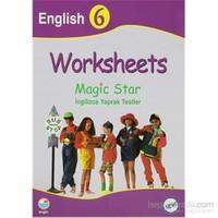 Worksheets Magic Star İngilizce Yaprak Testler English 6