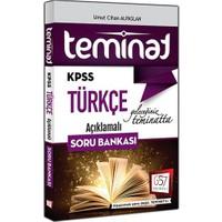 657 Yayınevi Kpss 2016 Teminat Türkçe Açıklamalı Soru Bankası