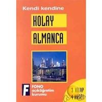Fono Kolay Almanca ( 3 Kitap + 4 Kaset )
