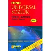 Fono Universal Sözlük / Türkçe - Almanca