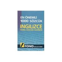 Fono En Önemli 1000 Sözcük - İngilizce Temel Sözcük Hazinesi