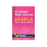 Fono En Önemli 1000 Sözcük - Arapça Temel Sözcük Hazinesi