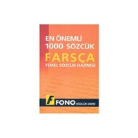 Fono En Önemli 1000 Sözcük - Farsça Temel Sözcük Hazinesi