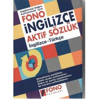 Fono İngilizce Aktif Sözlük - (İngilizce - Türkçe) - Ali Bayram
