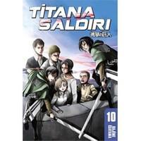 Titana Saldırı 10 - Hajime İsayama
