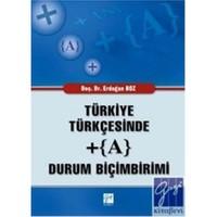 Türkiye Türkçesinde +(A) Durum Biçimbirimi
