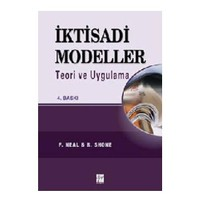 İktisadi Modeller Teori Ve Uygulama