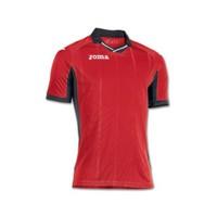 Joma 100145.600 T-Shirt Palermo Red Black Erkek Formalar