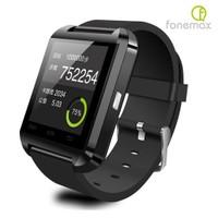 Fonemax U8 Siyah iOS ve Android Uyumlu Akıllı Saat - u8saats