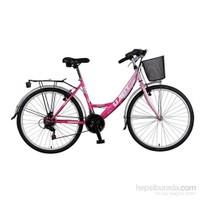 Ümit 2408 Safiro 24 Jant Şehir Bisikleti (Pembe)