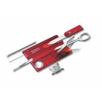Victorinox Swisscard Lite Şeffaf Kırmızı 0.7300.T