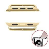 Microsonic Apple Watch 42Mm Kordon Kayış Toka Bağlantı Adaptörü Gold