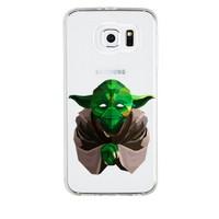Remeto Samsung Galaxy Note 4 Transparan Silikon Resimli Star Wars Yoda