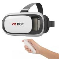 Cyber Vr Box Virtual Reality 3D Sanal Gerçeklik Gözlüğü 3.1 + Bluetooth Kumanda