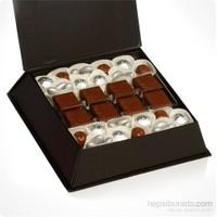 ChocChic Kartanesi Dekorlu Spesiyal Yılbaşı Çikolatası