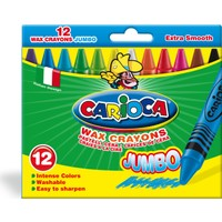 Carioca Kalın Pastel Boya Kalemi 12'li