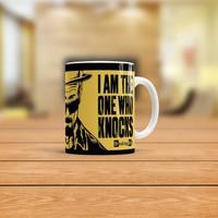 KFBimilyon Breaking Bad Heisenberg I'm the One Who Knocks Çizim Baskılı Kupa Bardak