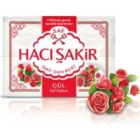 Hacı Şakir Kalıp Sabun Gül 4x150GR