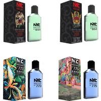 Nyc East Village Rock & Tattoo Edition ve Soho Street Art Edt 100 Ml*4 Erkek Parfüm Set
