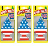 Car Freshener Little Trees Kağıt Koku Vanilla Pride 3 adet