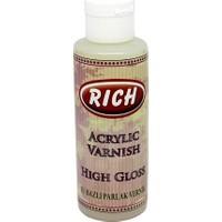 Rich High Gloss Su Bazlı Parlak Vernik 130 cc