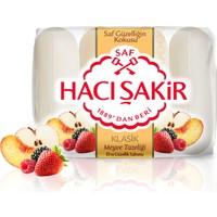 Hacı Şakir Güzellik Sabunu Klasik Meyve Tazeliği 4x70GR