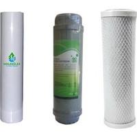 Moleküler Su Arıtma Cihazı 3 Lü Set Filtre