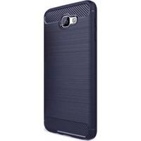 Eiroo Samsung Galaxy J5 Prime Carbon Shield Ultra Koruma Lacivert Kılıf