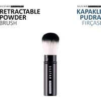 Silstar Retractable Powder Brush - Kapaklı Pudra Fırçası