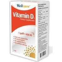 Wellcare Vitamin D3-600'Iu