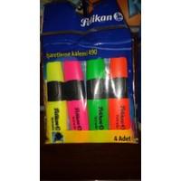 Pelikan Fosforlu Kalem Karışık Renk 4 Lü 490