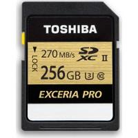 Toshiba Exceria Pro 256GB 270MB-250MB/s SDHC /SDXC UHS-II Class 3 SD Kart
