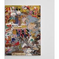 Dekolata Osmanlı Minyatür Kanvas Tablo Boyut 30 x 40