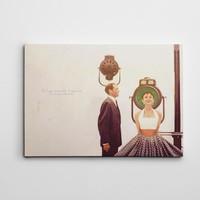 Dekolata Audrey Hepburn Kanvas Tablo Boyut 30 x 40
