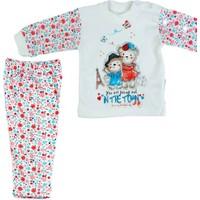 Kardelya Paris Baskılı Bebek Pijama Takımı