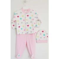 Sebi Bebe 2209 Bebek Pijama Takımı