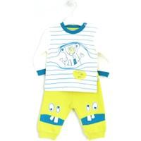 Mymio 422 Çizgili Bebek Pijama Takımı