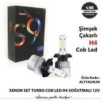 Xenon Set Turbo Cob Led H4 Soğutmalı 12V