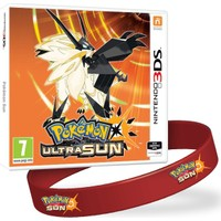 Pokemon Ultra Sun 3DS (PAL Versiyon) + Pokemon Sun Bileklik