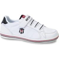 Kinetix 1204097 Beyaz Siyah Erkek Çocuk Sneaker Ayakkabı