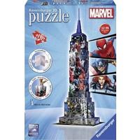 Ravensburger 3D Puzzle Emp State Avengers 125173
