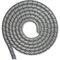 Sumergroup Helezon Pano Kablo Toplama Spiral 6 Mm Rulo Gri 20 M
