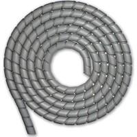 Sumergroup Kablo Toparlayıcı Düzenleyici Spiral Rulo 14 Mm Gri 10 M