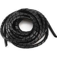 Sumergroup Kablo Toplama Koruma Spirali Rulo 20 Mm 10 M Siyah