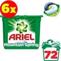 Ariel Pods Sıvı Çamaşır Deterjanı Kapsülü Dağ Esintisi 6 x 12 Yıkama (72 Yıkama)