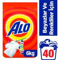 Alo Toz Çamaşır Deterjanı Beyazlar ve Renkliler İçin 6 kg