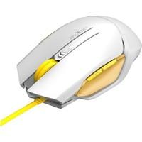 James Donkey 112 Beyaz Optik 2000 DPI Omron USB Kablolu Oyuncu Mouse
