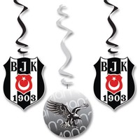 Hepsi Dahice Orijinal Lisanslı Beşiktaş Asmalı İp Süs